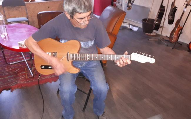 Stage#26 type Tele 2018 de José - Hervé BERARDET Artisan Luthier, atelier Guitare et Création