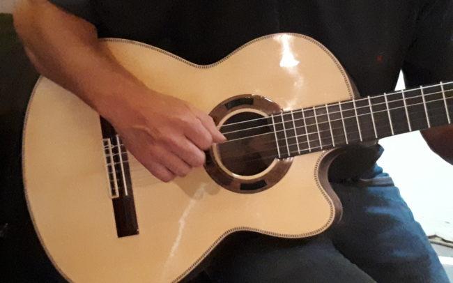 Stage#28 Guitare Classique 2018 de Jean-Luc - Hervé BERARDET Artisan Luthier, atelier Guitare et Création