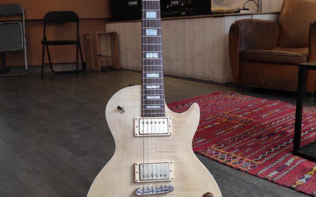 Stage Lutherie #32 : Guitare type LP réalisée par Matthieu - Hervé BERARDET Artisan Luthier, atelier Guitare et Création - Luthier Bordeaux