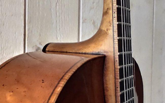 T.H.E. Guitare Jazz Archtop - Modèle Unique