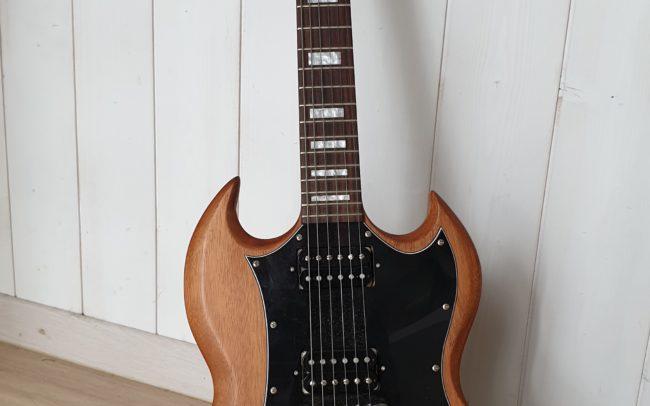Stage#27 type SG 2018 de Thierry - Hervé BERARDET Artisan Luthier, atelier Guitare et Création