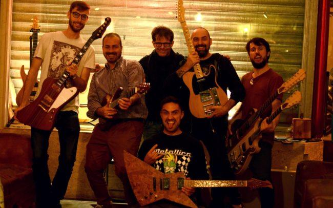 Festival de guitares en stage ! Chez Hervé BERARDET Artisan Luthier, atelier Guitare et Création