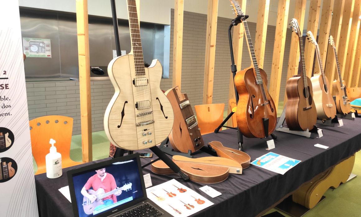 Hervé BERARDET Artisan Luthier, atelier Guitare et Création - Jour 2 Salon des Internationales de la Guitare Toulouse 2020