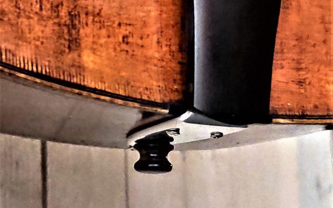 T.H.E. Guitare Jazz Archtop - Modèle Unique réalisée en collaboration avec Luthier du Quatuor Tony ECHAVIDRE - Hervé BERARDET Maître Artisan Luthier en Guitares-cordier