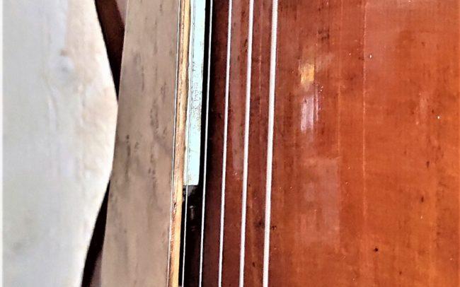 T.H.E. Guitare Jazz Archtop - Modèle Unique réalisée en collaboration avec Luthier du Quatuor Tony ECHAVIDRE - Hervé BERARDET Maître Artisan Luthier en Guitares_MicroCC