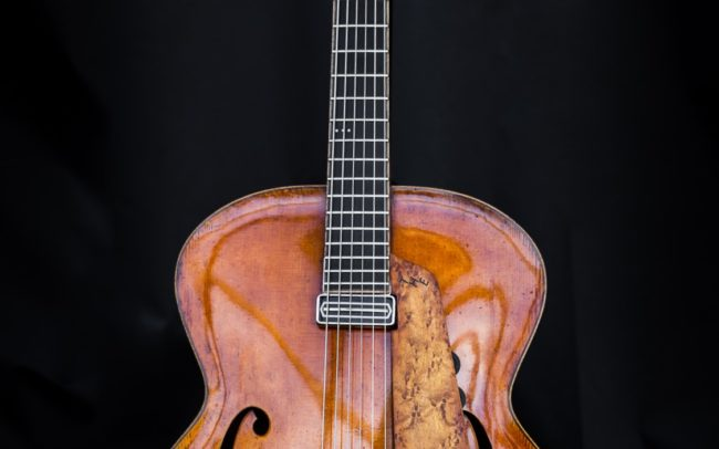 T H E Guitare Jazz Archtop @laetitiam.photography