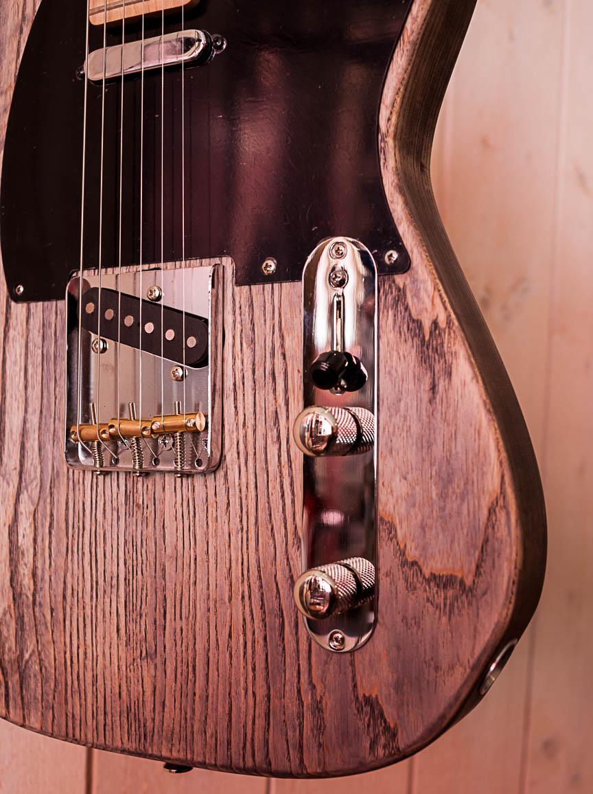 CUSTOM TELE By Hervé BERARDET Artisan Luthier, atelier Guitare et Création